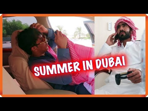 GOING OUT DURING SUMMER IN DUBAI