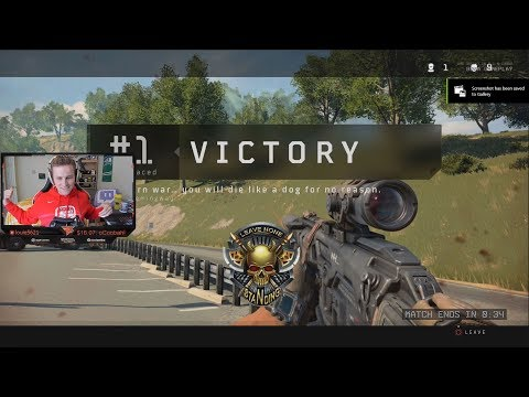 My First Blackout WIN!! (COD:BO4 Blackout) (видео)