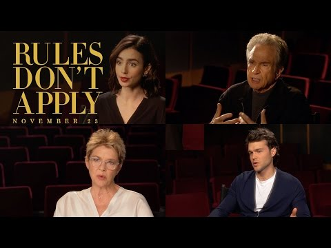 Rules Don't Apply (Featurette 'Director Warren Beatty')