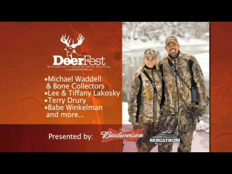 deerfest - Promotional video prepared by Michael Waddell for DeerFest in Oshkosh, Wisconsin on July 22-24th at the Sunnyview Expo Center. Michael Waddell and fellow Bon...