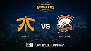 Fnatic vs Virtus.pro - DH Las Vegas - map2 - de_cobblestone [yxo, Enkanis]