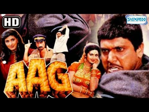 Aag (1994) (HD) Hindi Full Movie - Govinda - Shilpa Shetty - Sonali Bendre - Old Hindi Movie