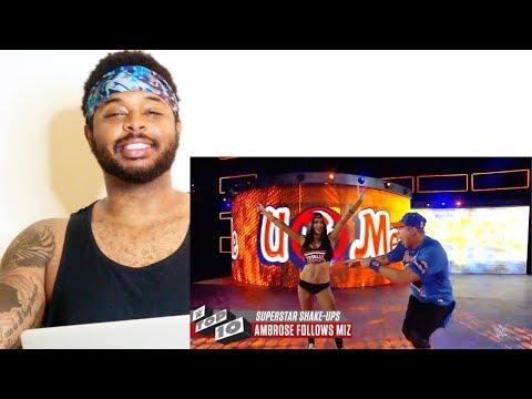Amazing Superstar Shake-ups: WWE Top 10 | Reaction