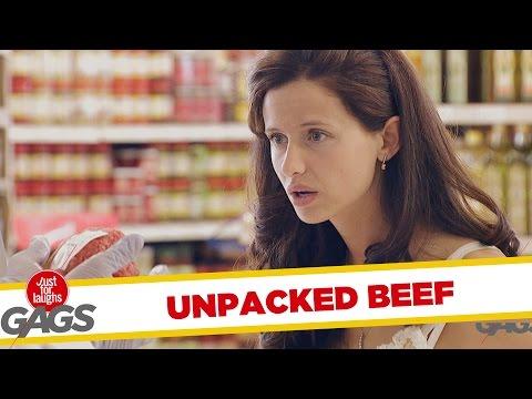Troll Hài Hước 2015 - Unpacked Ground Beef Prank