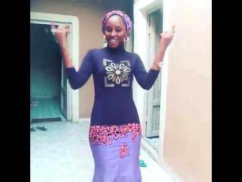 Beautiful hausa girl dance 2017