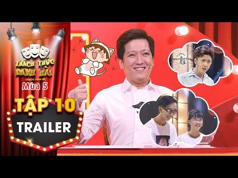 Thách thức danh hài 5|Trailer tập 10:Trường Giang làm khó khi buộc fan cứng trở mặt với Ngô Kiến Huy - Thời lượng: 1:32.