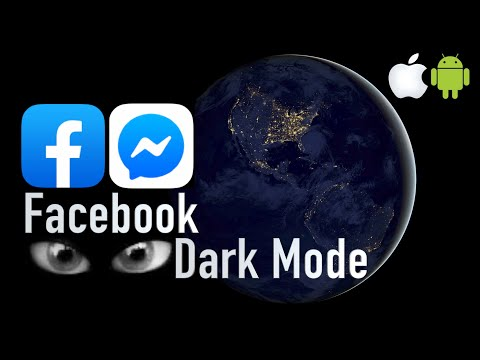 Facebook Dark Mode! How to enable on iOS and Android!!!