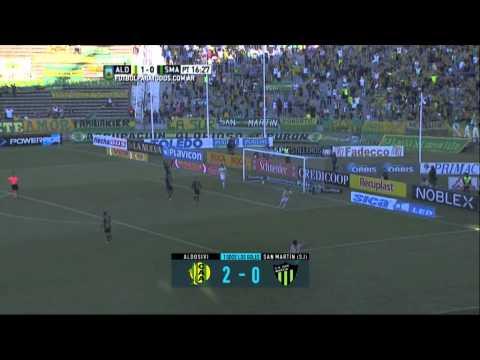 Todos los goles. Fecha 22. Primera División 2015.
