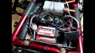 9. Hyosung GV 650 AE - Power Commander+Auto Tune (first run)