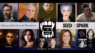 "Visit http://hecklerkane.com/seymour to sign up for behind the scenes action, casting announcements and exclusive perks.Currently crowdfunding on Seed&Spark: https://www.seedandspark.com/fund/seymour-the-unfortunate-vampire/Seymour the Unfortunate Vampire is an 8 part vampire horror comedy web series about acceptance, wanting to fit in and living the life he once knew. We all experience change, some of us more than others. This production is seeking to raise $10,000 through its Seed&Spark crowdfunding campaign.Seymour, a fledgling vampire who was recently turned, is desperately trying to put the pieces of his life back together with the help of his friends and trouble at every turn. In a universe peppered with vampires, werewolves, fairies and even zombies it maintains its levity with comedic elements throughout the series.The scripts are written, crews are in place and the cast is ready! This production features veteran actor Marshall Teague, known for his roles in the 1980s movie Road House as well as Armageddon, The Rock and countless others. Marshall will be playing the role of Chester the Werewolf, a mentor assigned by the Supernatural Rehabilitation Services to help Seymour adjust into the life he's been forced into.Meet the Cast:Seymour the Unfortunate Vampire will be played by Writer and Director Joe Kane. Seymour, just your average ""Joe"" is unknowingly turned into a vampire and struggles with acceptance of his new life. Dealing with his family, friends and new enemies, the vampire life is unfortunately not what he's seen in the movies.Chester, a werewolf and mentor for the SRS will be played by actor Marshall Teague. Marshall has appeared in over 130 film and television shows and is best known for his roles in Road House (1989), Armageddon (1998) and The Rock (1996). Wally, Seymour's best friend will be played by Wayne Heckler, a founding partner of Heckler Kane Creations. With a bit of jealousy towards Seymour's new powers, he puts himself and his friends in some unfortunate situations. Peggy, The Vampire Hunter is a hot headed, kick ass female played by Tonya Kay aka The Most Dangerous Woman in Hollywood. Her talents are as diversified as they are bold. From stunt woman to dramatic actress, comedy to dancer. Tonya is known for her role in the Lifetime movie The Other Wife and will be a series regular on the El Rey Network's Puppet Master: Axis Termination.Guy, The Vampire Hunter is cool, calm, collective and a little  clueless. The role of Guy will be played by Ethan Marten  who does his best to keep Peggy from making a  scene. Ethan is the producer of the indie film Eyes of the  Roshi. Agent Odin is an SRS Agent (Supernatural Rehabilitation Services) assigned to Seymour's case file played by Sal Conca. A former vampire hunter, he had a change of heart when his father was turned years prior."