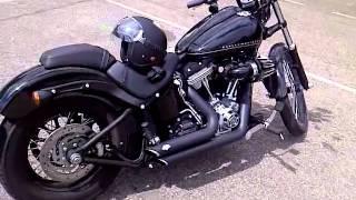6. Harley Davidson FXS Blackline 2011