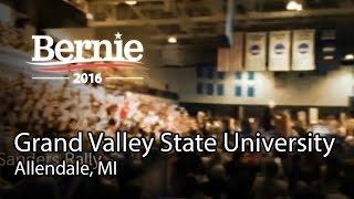 Allendale (MI) United States  city photos : Bernie Sanders @ Grand Valley State University in Allendale, MI (Mar 4)