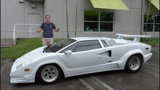 Video Here's Why the Lamborghini Countach is Worth $300,000 MP3, 3GP, MP4, WEBM, AVI, FLV September 2018