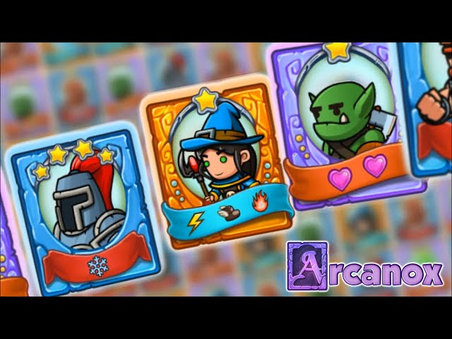 Arcanox: Cards vs. Castles | Trailer | Free Combat Strategy Game for Android & iOS