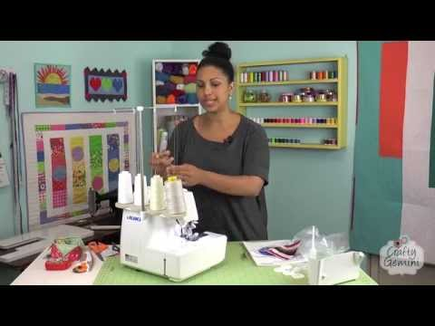 JUKI MO-1000 Serger- Sewing Machine Review