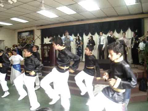Danza de Varones Juda Iglesia Rhema Ministerios Ebenezer Guatemala