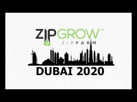 ZipGrow™ ZipFarm™ Installation in Dubai - Urban Fresh Farms