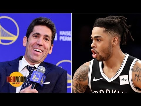 Video: Do you believe the Warriors GM's comments about D'Angelo Russell? | High Noon