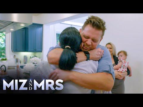 Miz gives a super hug to Marjo: Miz & Mrs., Nov. 12, 2020
