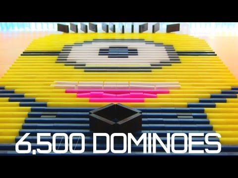 6,500 Dominoes – Despicable Me Minion?!