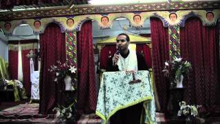Kessis Dr. Mebratu Kiros @ Toronto St. Mary Ethiopian Orthodox Tewahedo Church (May 12, 2012)