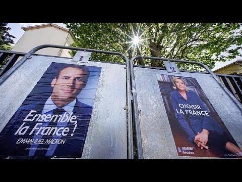 Στην τελική ευθεία για τις εκλογές της Κυριακής Μακρόν – Λεπέν