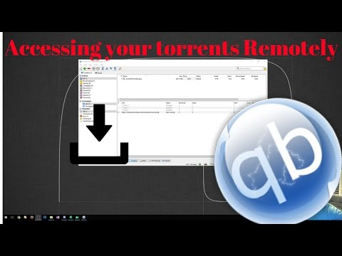 How To Access Your Torrents Remotely!
