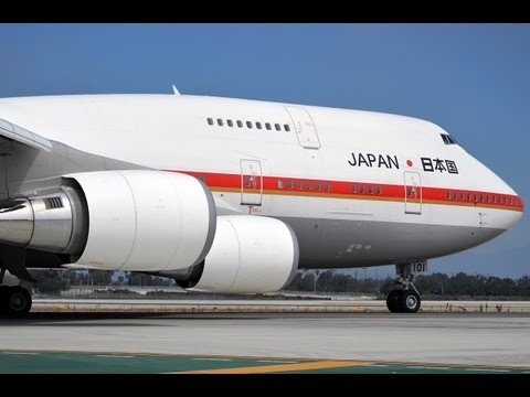 Japanese Air Self Defense Force (JASDF) Boeing 747-47C [20-1101] at LAX