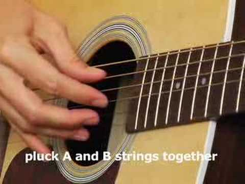 picking - 5 Free Lessons click http://www.nextlevelguitar.com/pages/1_free_DVD/ How to play the acoustic guitar In this lesson Megan teaches the basics of finger picki...