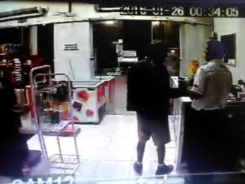 Frentista é baleado em tentativa de assalto em Manhumirim