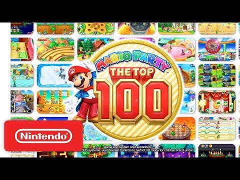 Mario Party: The Top 100 – Mario & Friends Trailer - Nintendo 3DS