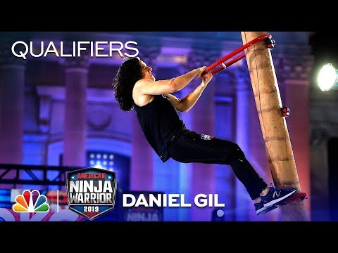 Daniel Gil Speeds Through To The $10,000 Mega Wall - American Ninja Warrior OKC Qualifiers 2019