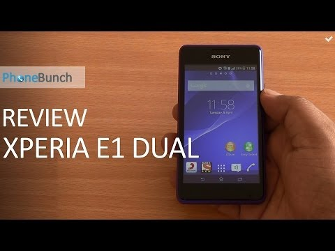 Sony Xperia E1 Dual Review