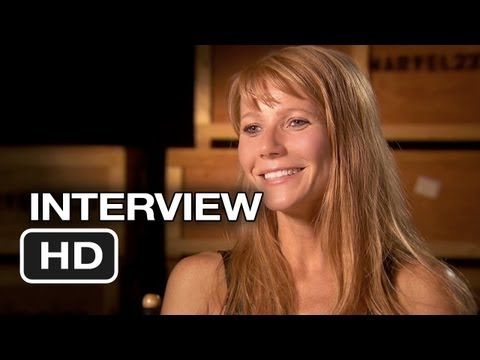 Iron Man 3 Interview - Gwyneth Paltrow (2013) - Robert Downey Jr. Movie HD