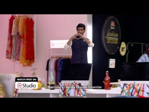 Myntra Fashion Superstar   Manish Malhotra   Sushmita Sen   Mallika Dua   Episode 6 Trailer