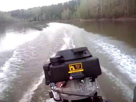 сборка лодочного гибрида ветерок чемпион g-200