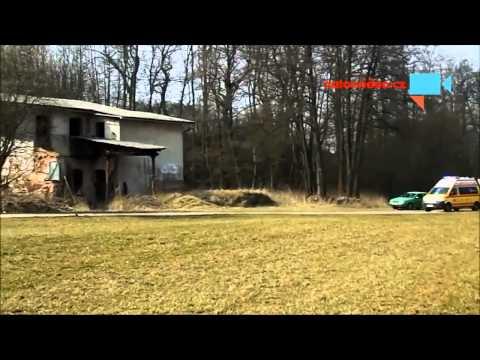 Zásah vrtulníku záchranářů.
