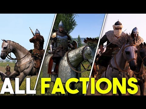 ALL Factions In Mount and Blade II Bannerlord! - Analysis and Overview (видео)
