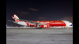 Video AirAsia X Indonesia Inaugural Flight at CSIA Mumbai MP3, 3GP, MP4, WEBM, AVI, FLV Juni 2018