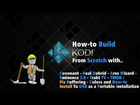 HOW-I Install Kodi 17.5 From Scratch Lite Weight Portable