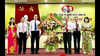 Đại hội đại biểu Đảng bộ Công ty Nhiệt điện Uông Bí lần thứ XXVII, nhiệm kỳ 2020-2025