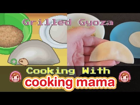 Grilled Gyoza | Cooking With Cooking Mama!