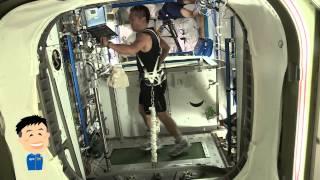 宇宙でもこれが使われている!宇宙飛行士のトレーニング