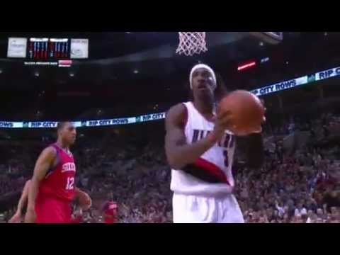 Jamal Crawford to Gerald Wallace Alley Oop Dunk
