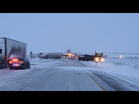 #TruckerLife #I80 #Wyoming  #Accident aftermath  accident Talks about his Experience (Part1)