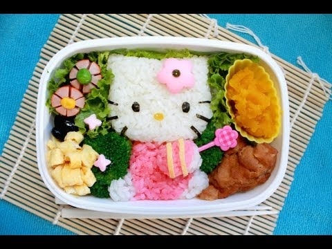弁当 - Bento Design by Project Van. (Except for the Hello Kitty character itself, obviously). Song: Matrixing by Project Van.