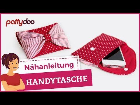 Handytasche selber nähen – Anleitung; pattydoo tutorial # 7
