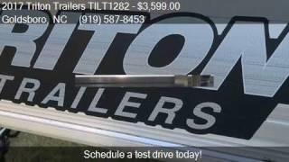 1. 2017 Triton Trailers TILT1282  for sale in Goldsboro, NC 275