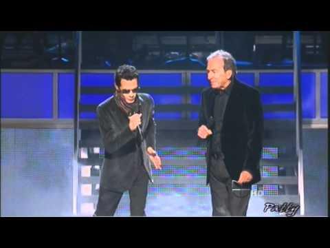 Marc Anthony y Jose Luis Perales - Latin Grammy видео