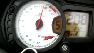 9. gsx650f de 0km/h a 250km/h